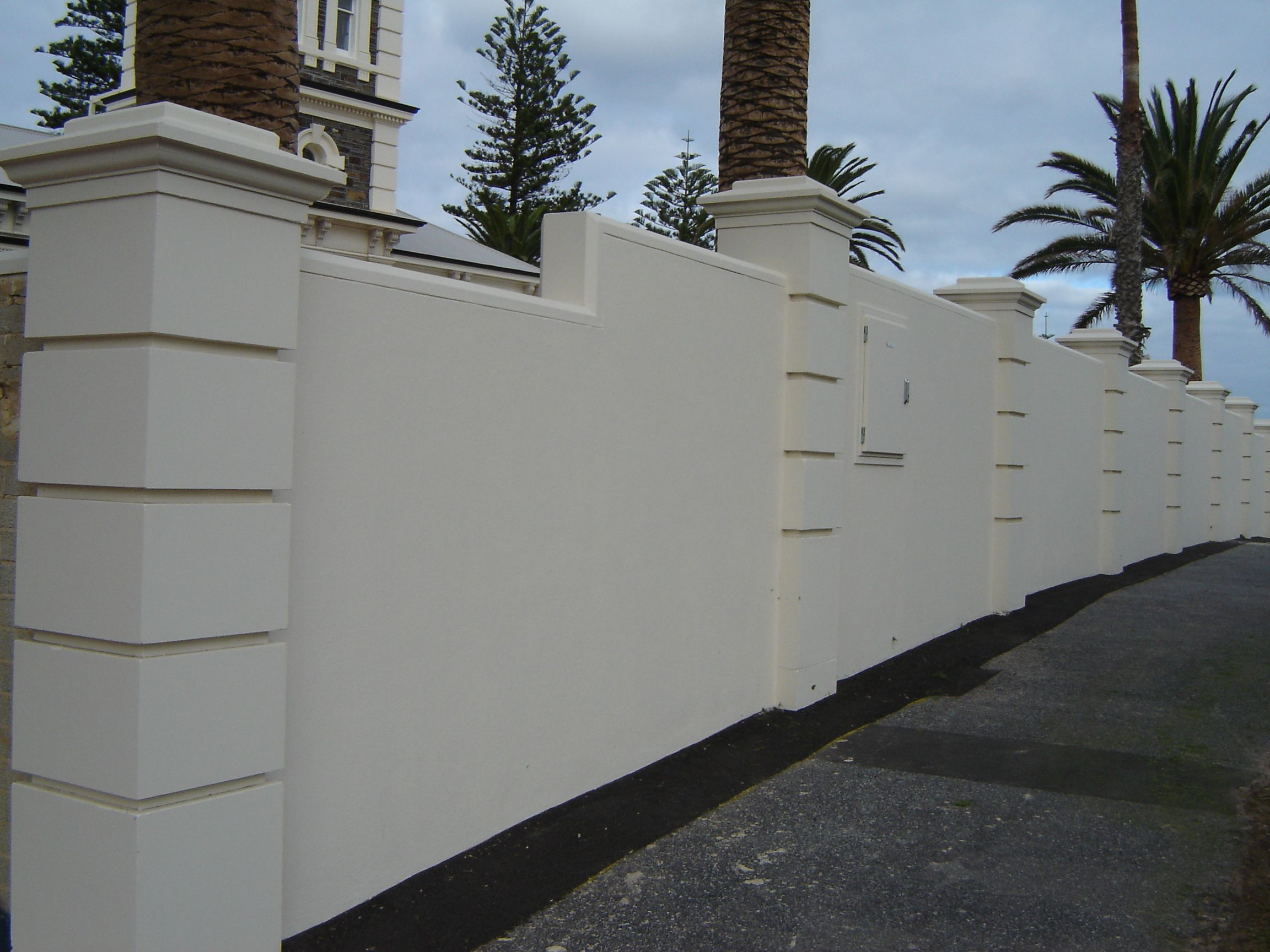 Fence design archives caststone blog
