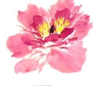 le pivoine en peinture chinoise xieyi la fleur tape 3 peinture xieyi chinese et sumi e. Black Bedroom Furniture Sets. Home Design Ideas
