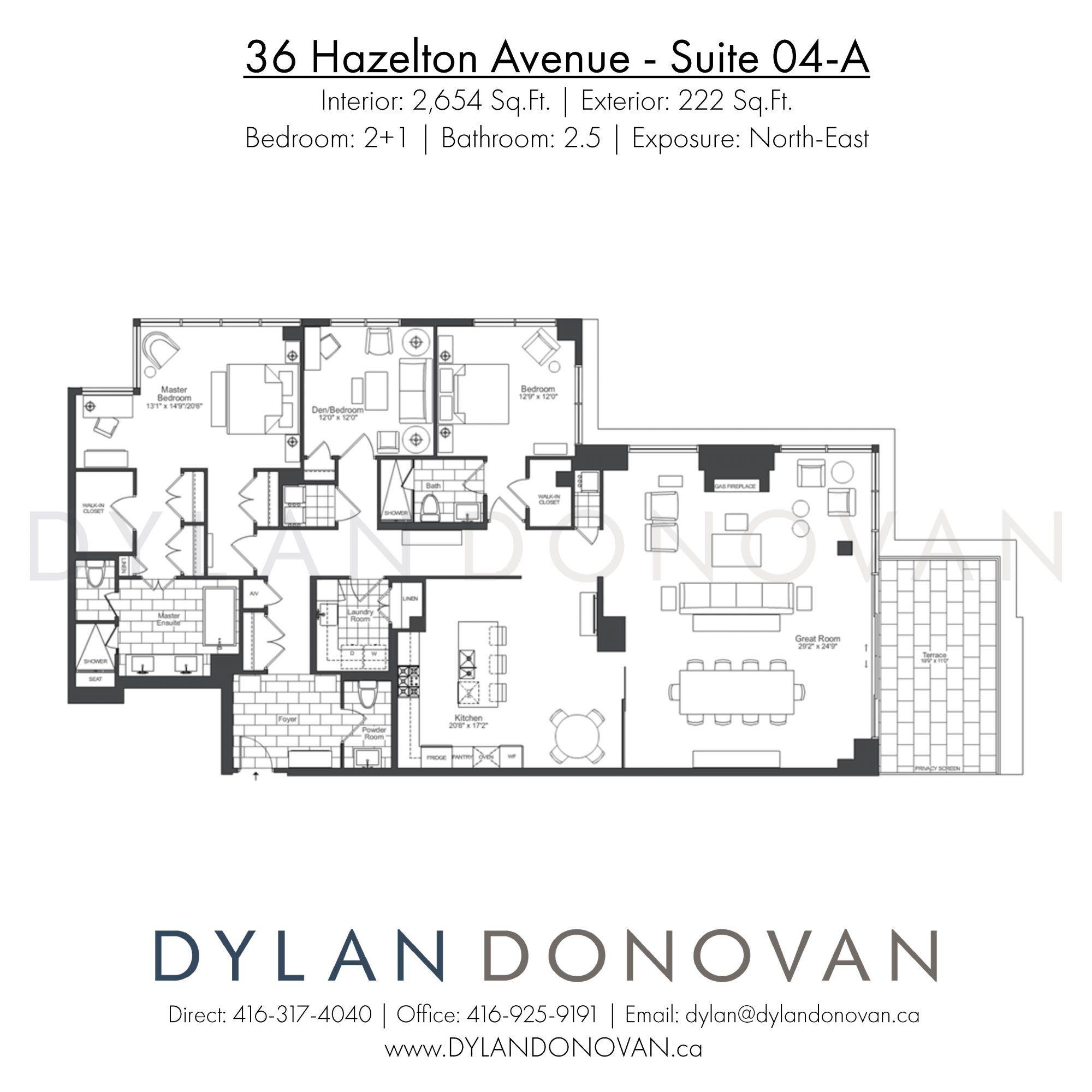 36 Hazelton Avenue Floor Plans View All Toronto Condos Floor Plans Flooring Sale Luxury Condo
