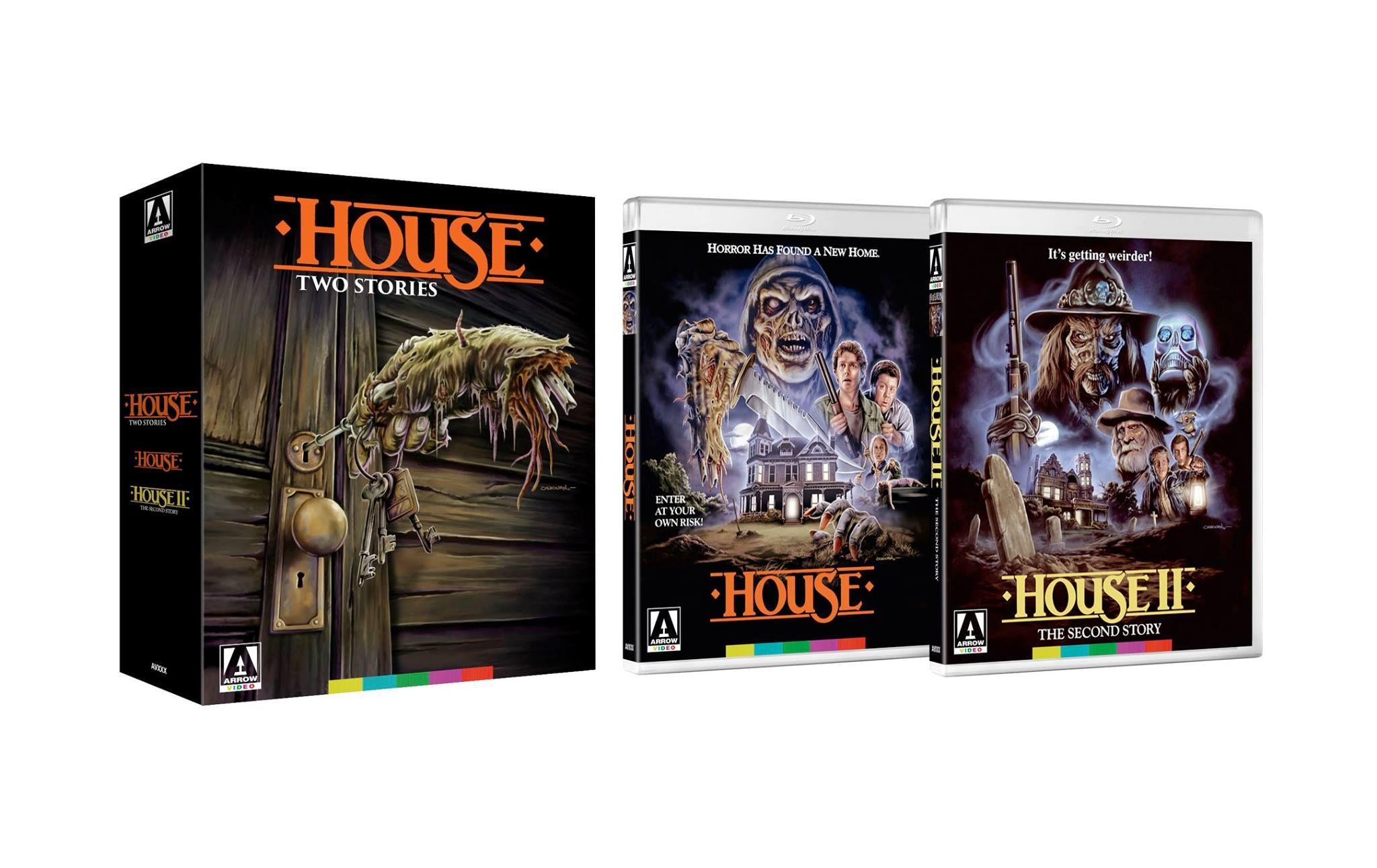 House I + II Limited Edition Bluray (Arrow Video) Hoeden