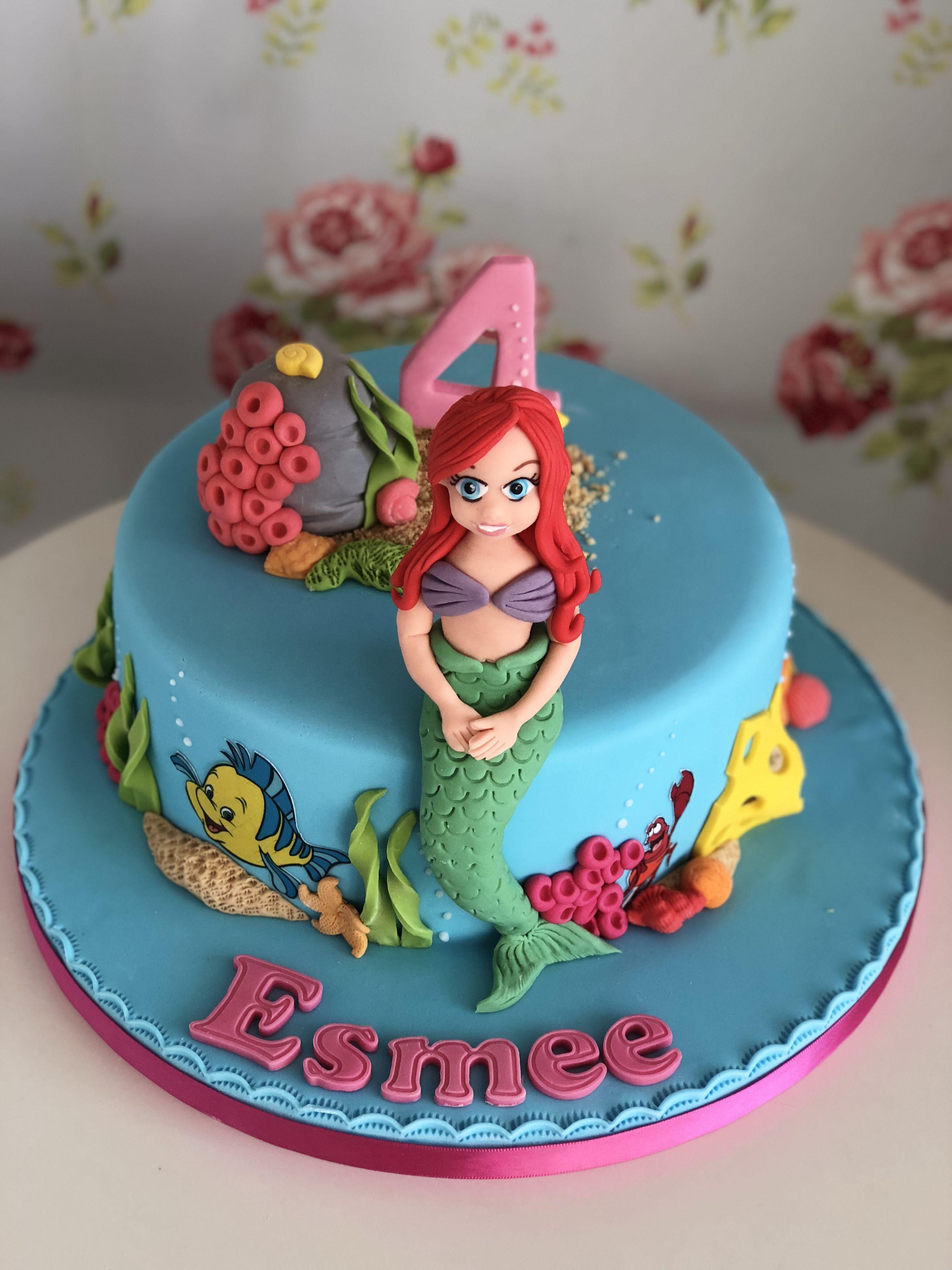 Ariel cake omg