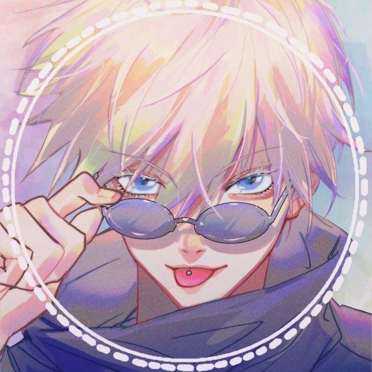 Gojo Satoru Aesthetic Icon Anime Edit Pfp Jujutsu Kaisen
