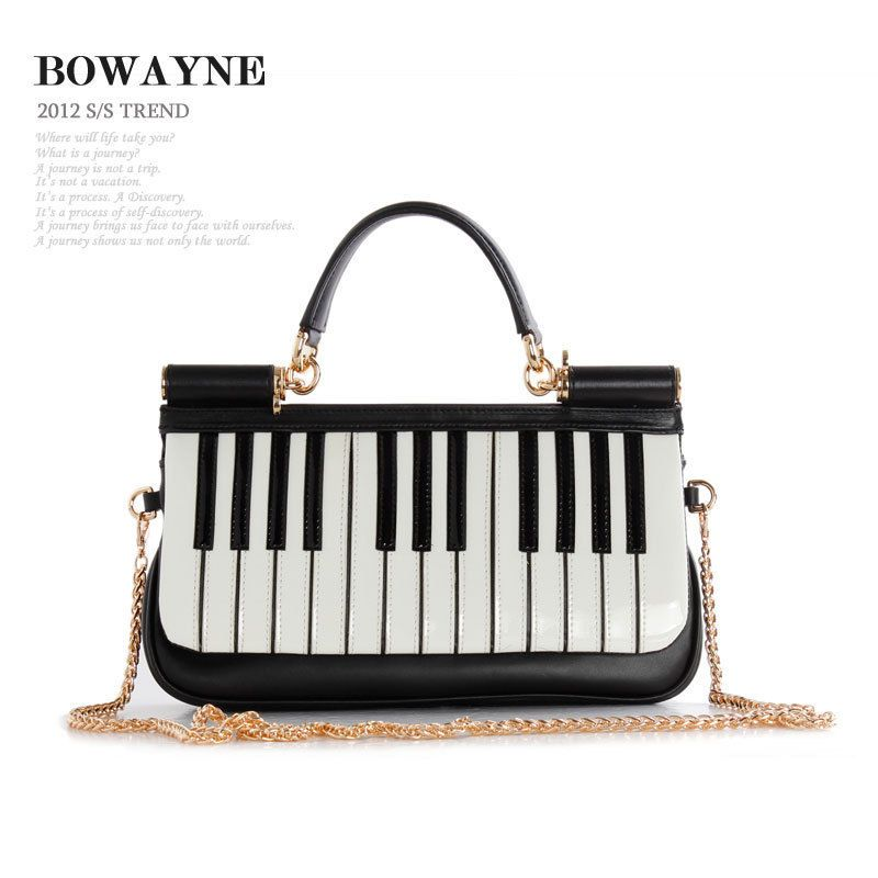 d3bd5817d82a Bowayne Piano Handbag | Accessory Awesomeness in 2019 | Music items ...