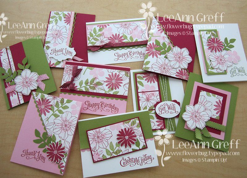 July Sketches Class Free Tutorial Flowerbug S Inkspot One Sheet Wonder Cards Handmade Paper Cards