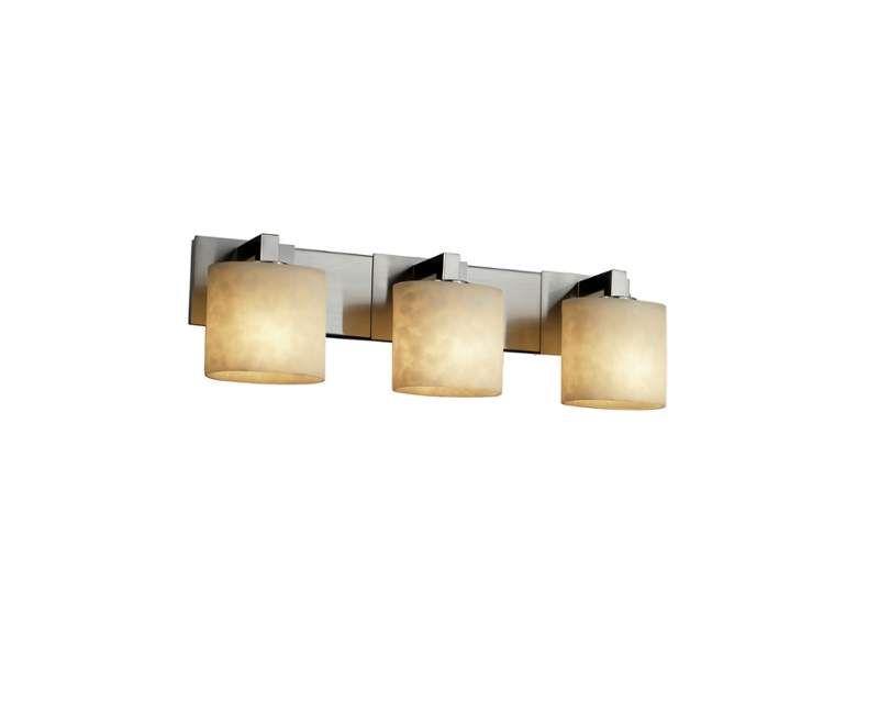 Justice Design Group Bathroom Lighting Justice Design Group Cld892330 Clouds 3 Light Vanity Light