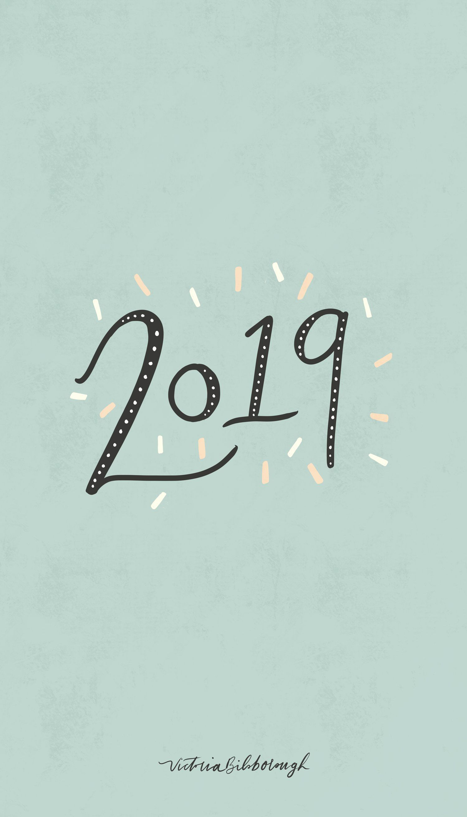 Happy New Year Free Wallpapers 2019 Victoria Bilsborough Iphone Wallpaper Fall Cute Wallpaper Backgrounds Phone Background Patterns