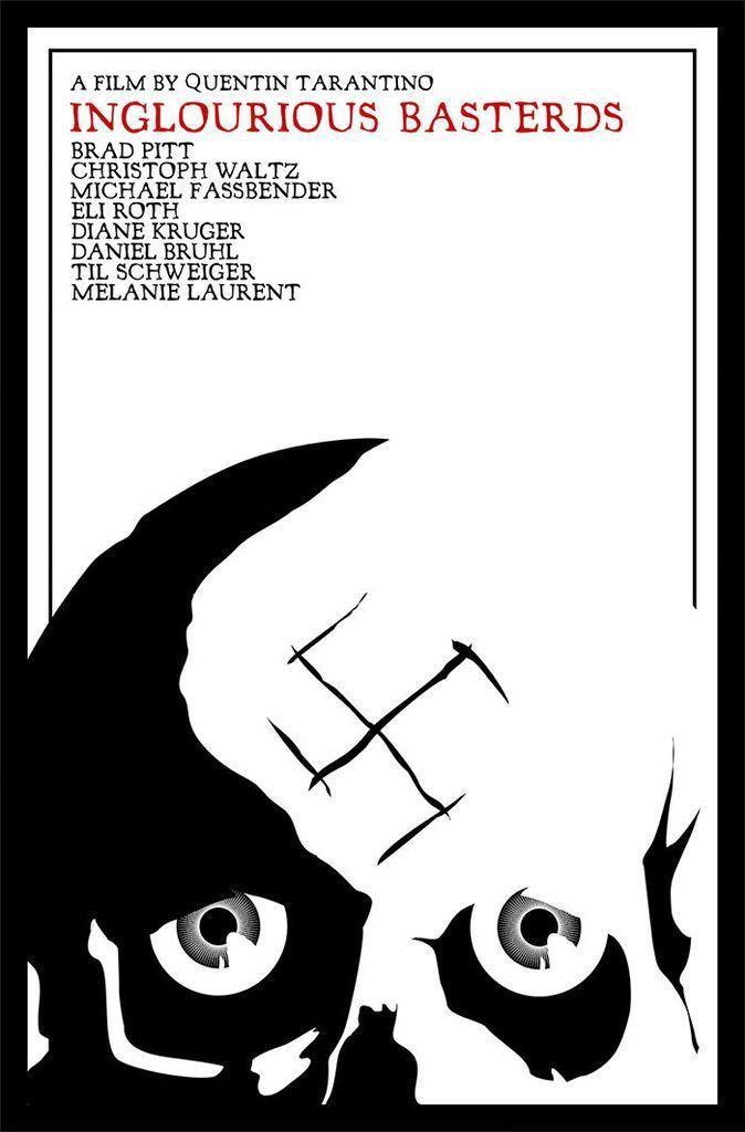 INGLORIOUS BASTERDS (2009) #AlternativePosters #PosterCine #movies #moviesposters #Tarantino #IngloriousBasterds http://t.co/yjp3rtKfVb