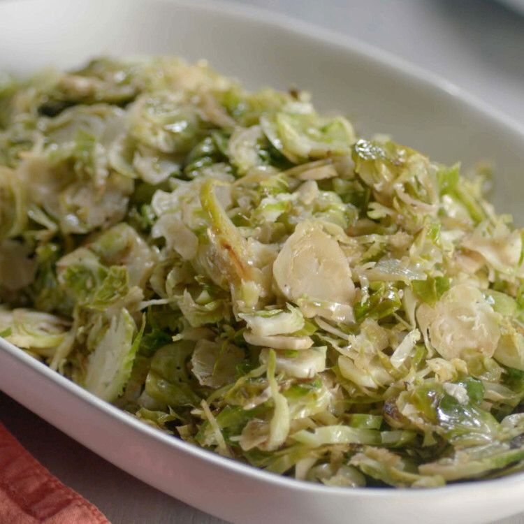 Brussel Sprout Recipes Balsamic Sauteed