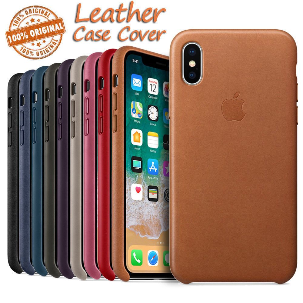 premium selection c7970 ce016 Details about Original Leather Case For Apple Iphone Xs Max Xr ...
