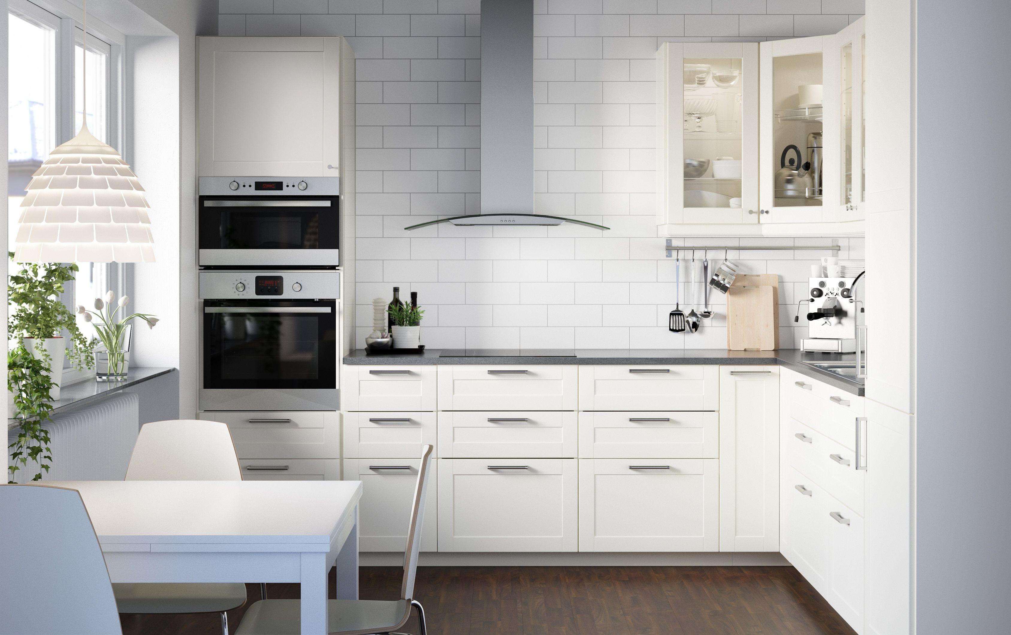 IKEA METOD SAVEDAL | life. | Pinterest | Kitchens, Kitchen handles ...
