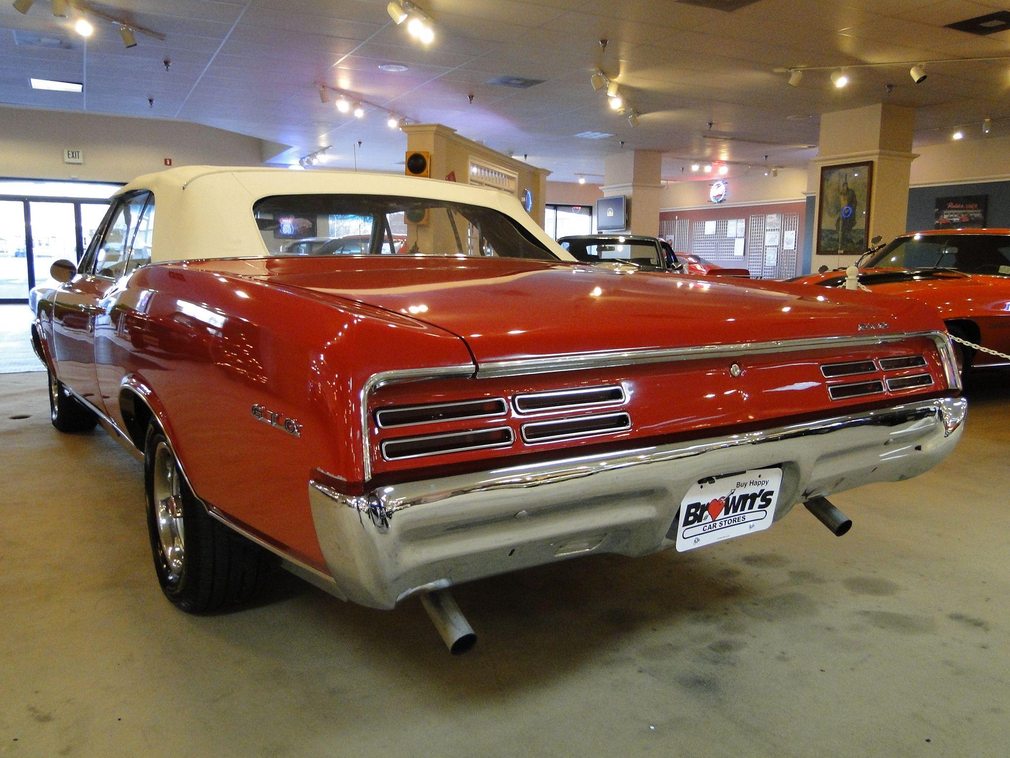 New 1967 Pontiac GTO CONVERTIBLE | Glen Burnie MD, Baltimore | R0348 ...