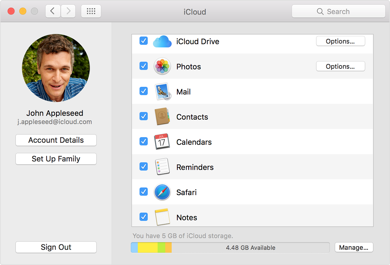 If your iCloud Contacts, Calendars, or Reminders won't