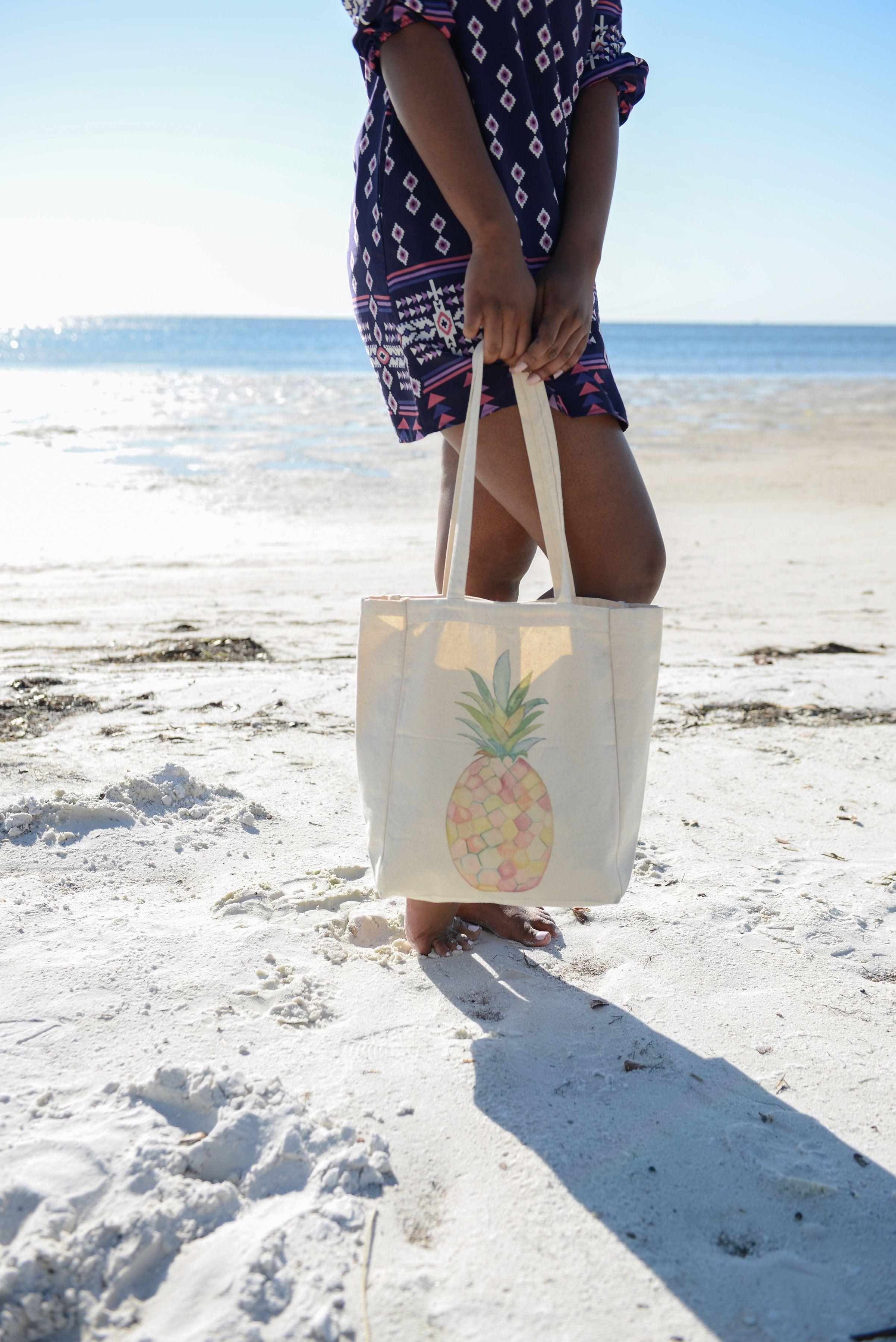 Original Watercolor Pineapple // One Eleven Studio