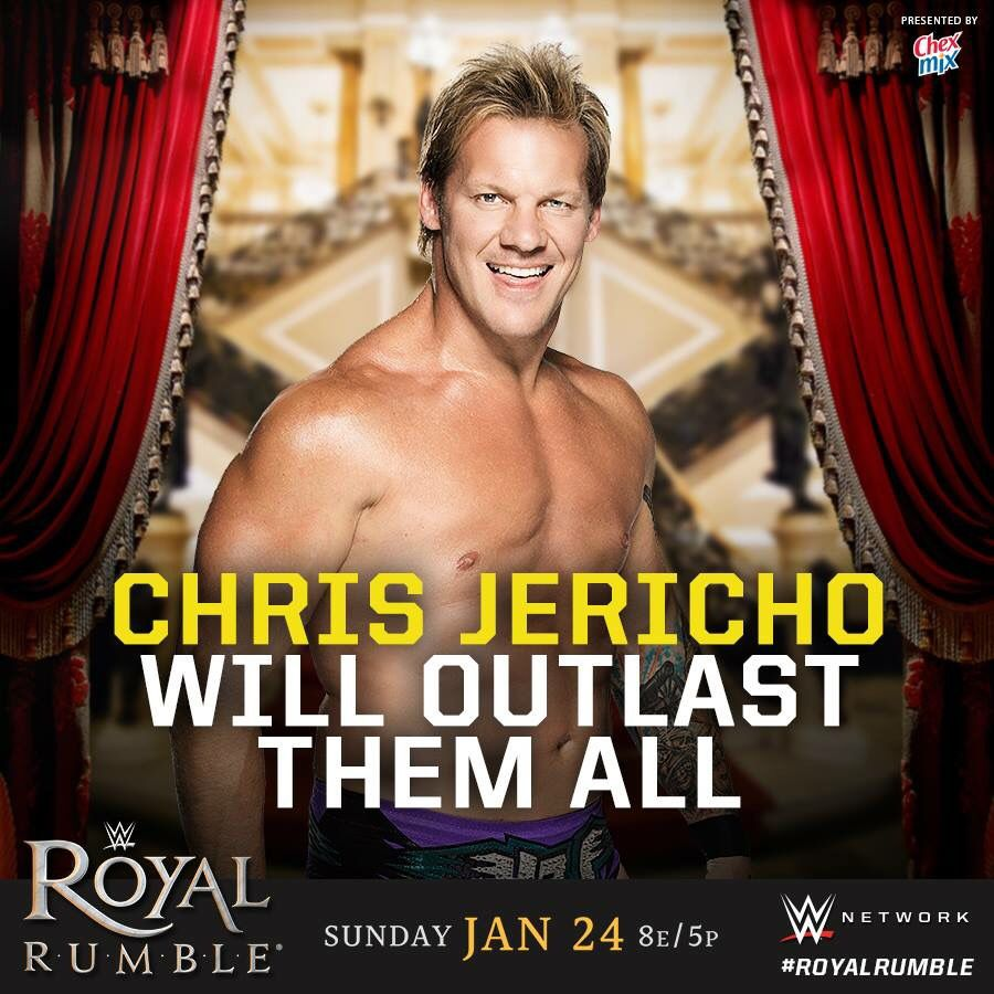 WWE Royal Rumble 2016: Chris Jericho will outlast them all.
