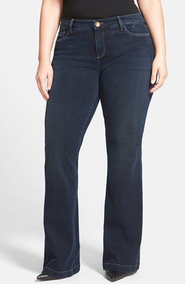 KUT from the Kloth 'Chrissy' Stretch Flare Leg Jeans (Breezy ...
