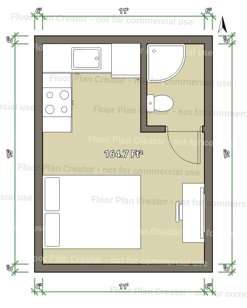 Very Small Shed To Home Layout Floor Plan Creator House Layouts Shed