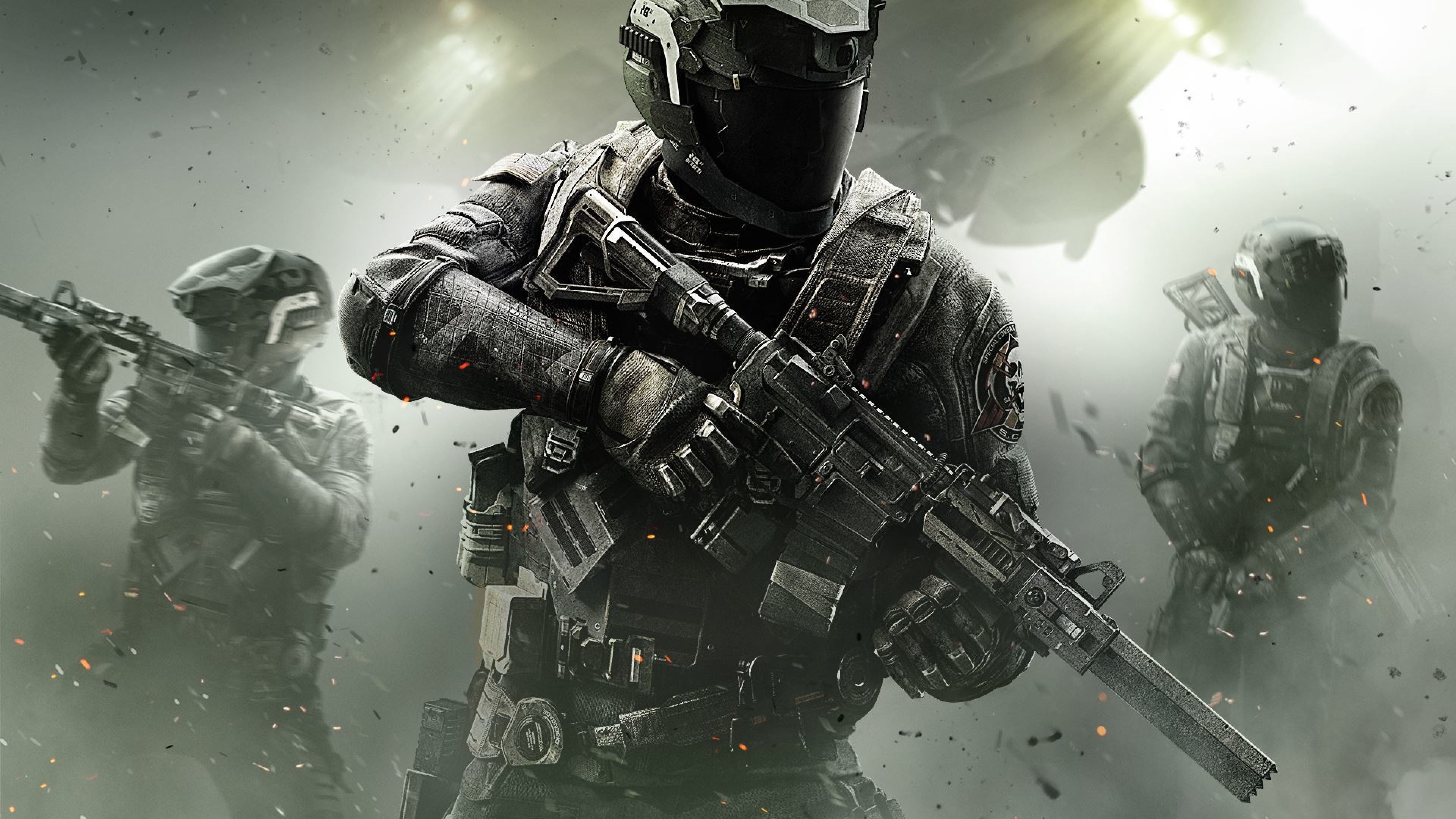 Download Wallpaper 3840x2160 Call of duty, Infinite
