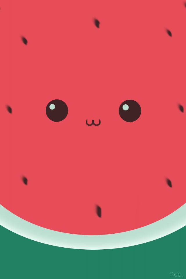 Sooooooo Cute Watermelon Wallpaper Wallpaper Iphone Cute Cute Wallpapers