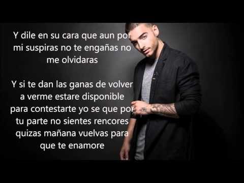Maluma El Perdedor Letra Lyric Youtube Lyrics Songs