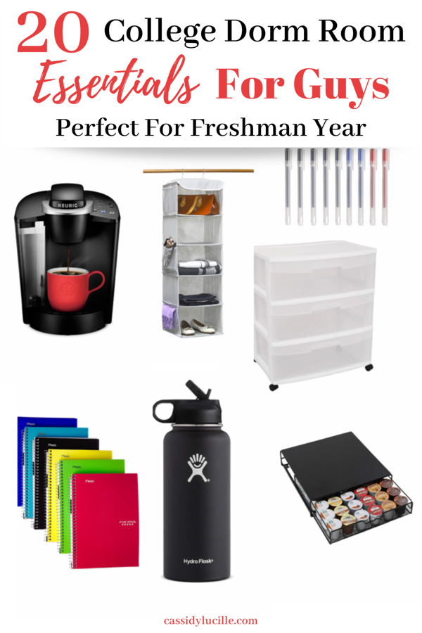 20 College Dorm Room Essentials For Guys images