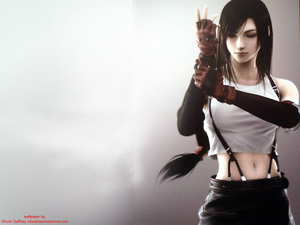 Tifa Lockhart Final Fantasy Artwork Hd Fantasy Girls 4k: My Obsession For Anime Comes To Surface