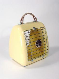 Upcycled Heater Handbag via Rodney Trice