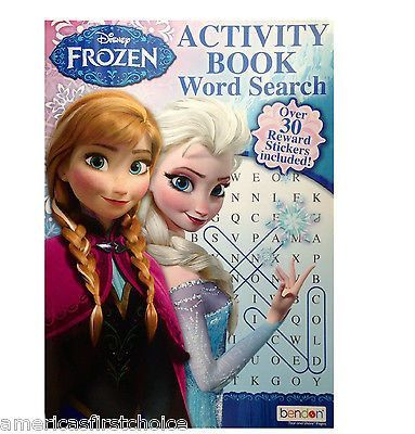 Selection of Disney Frozen Books /& Activities Choice of 6