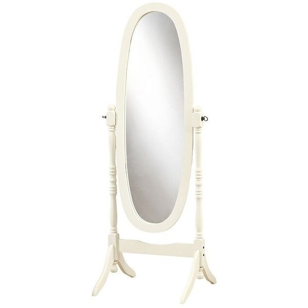 Monarch Oval Cheval Floor Mirror ($120) ❤ liked on Polyvore ...