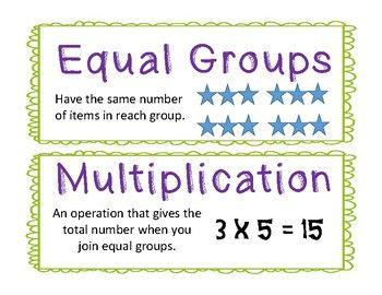 Envisions 2 0 Grade 3 Vocabulary Cards Vocabulary Cards Vocabulary Vocab