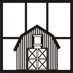 EZLaserDesigns : How a Farmer Does It Barn  scrapbook overlay farm layout