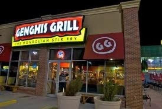 Genghis Grill Wichita Ks Wichita Trip Advisor Grilling