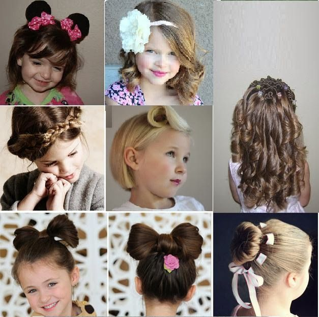 Coiffure soirée pour jeune fille Cheveux de soirée