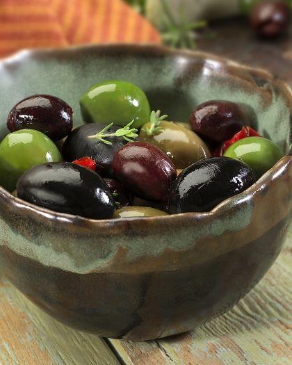 come conservare le olive nere all'acqua e sale