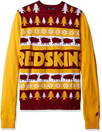 NFL Washington Redskins One Too Many Ugly Sweater XLarge Red   Click image  for more details. e7130c18e