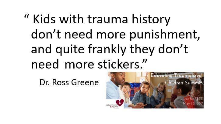 Teaching Traumatized Kids >> Dr Ross Greene Educating Kids Who Have Been Traumatized