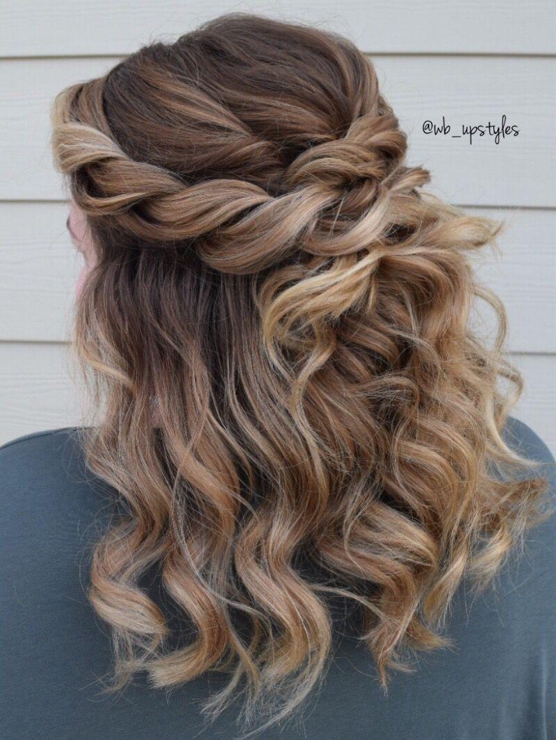 rope braided half updo | wedding hairstyles in 2019 | half