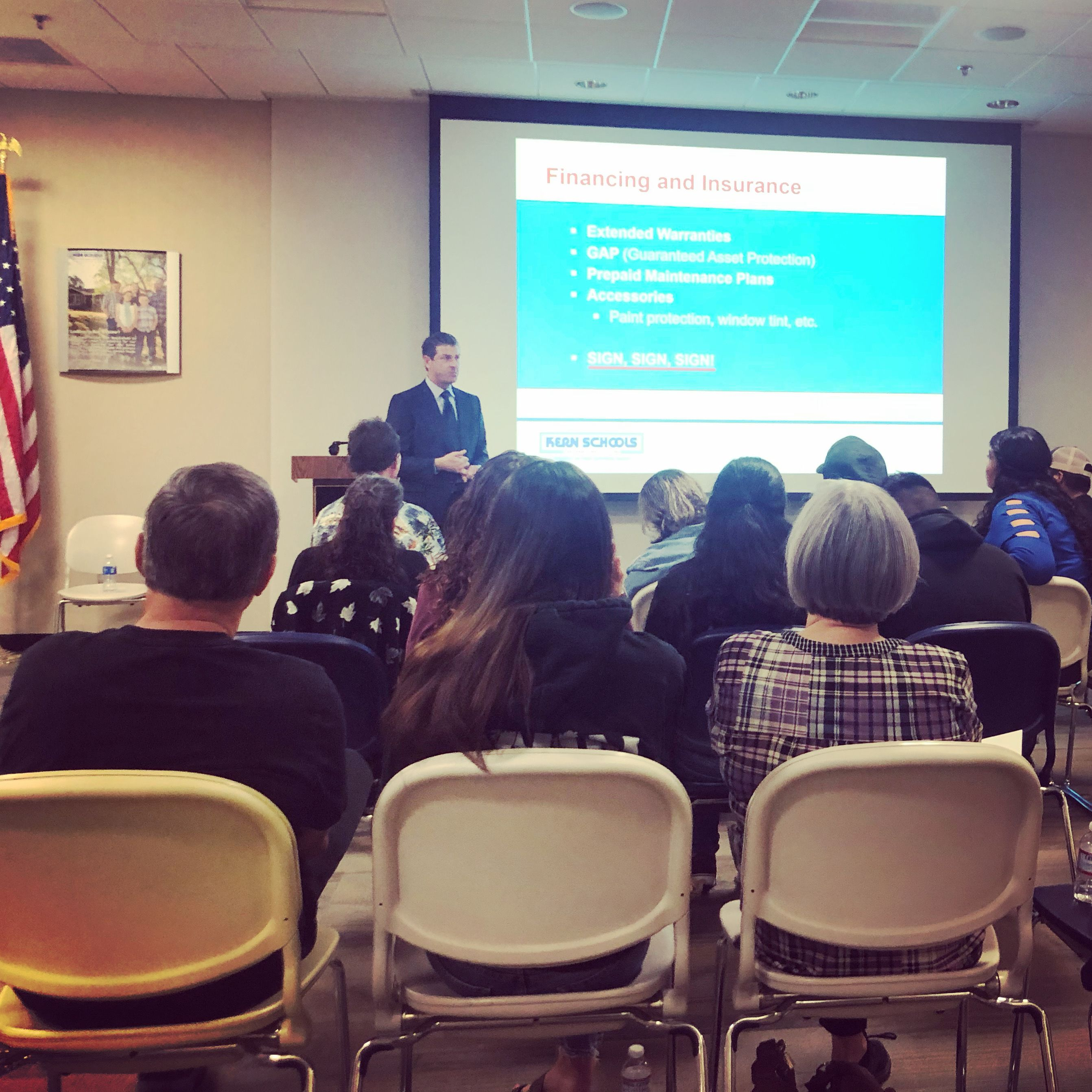 Throwback Thursday To The Recent Auto Buying Workshop By Kern Schools Federal Credit Union For Its Personal Injury Attorney Personal Injury Law Injury Attorney