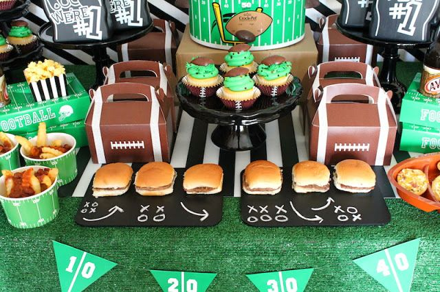 LAURA'S little PARTY: Game Day | Football Party Ideas