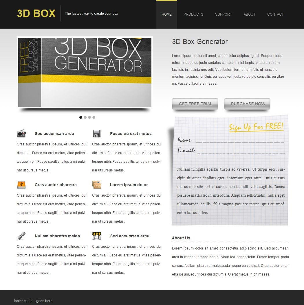 Convert Your Product Landing Page From PSD to HTML [Very