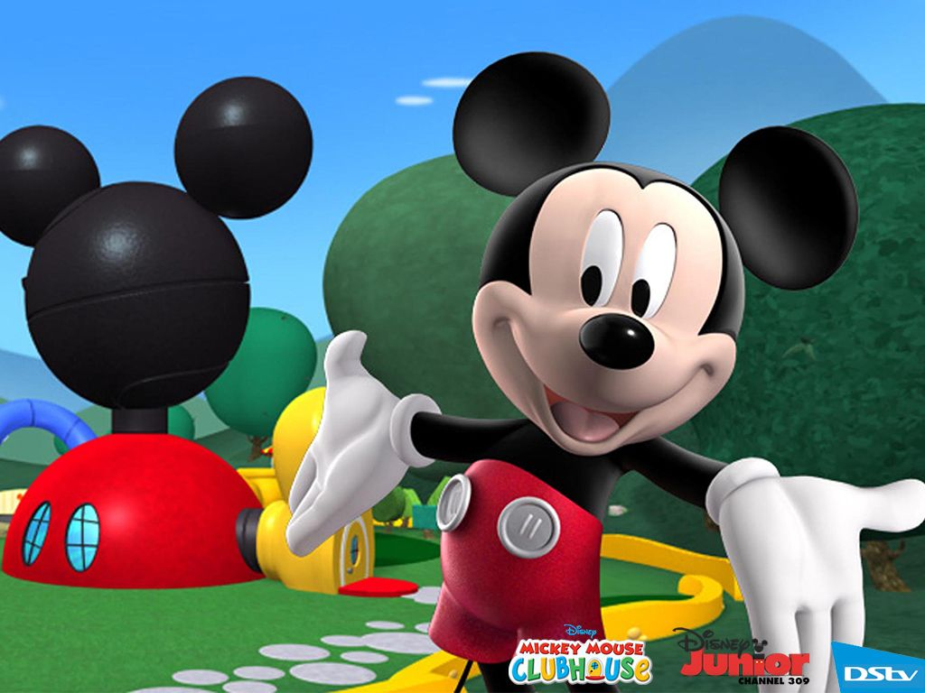 mickey mouse clubhouse wallpaper cartoons pinterest