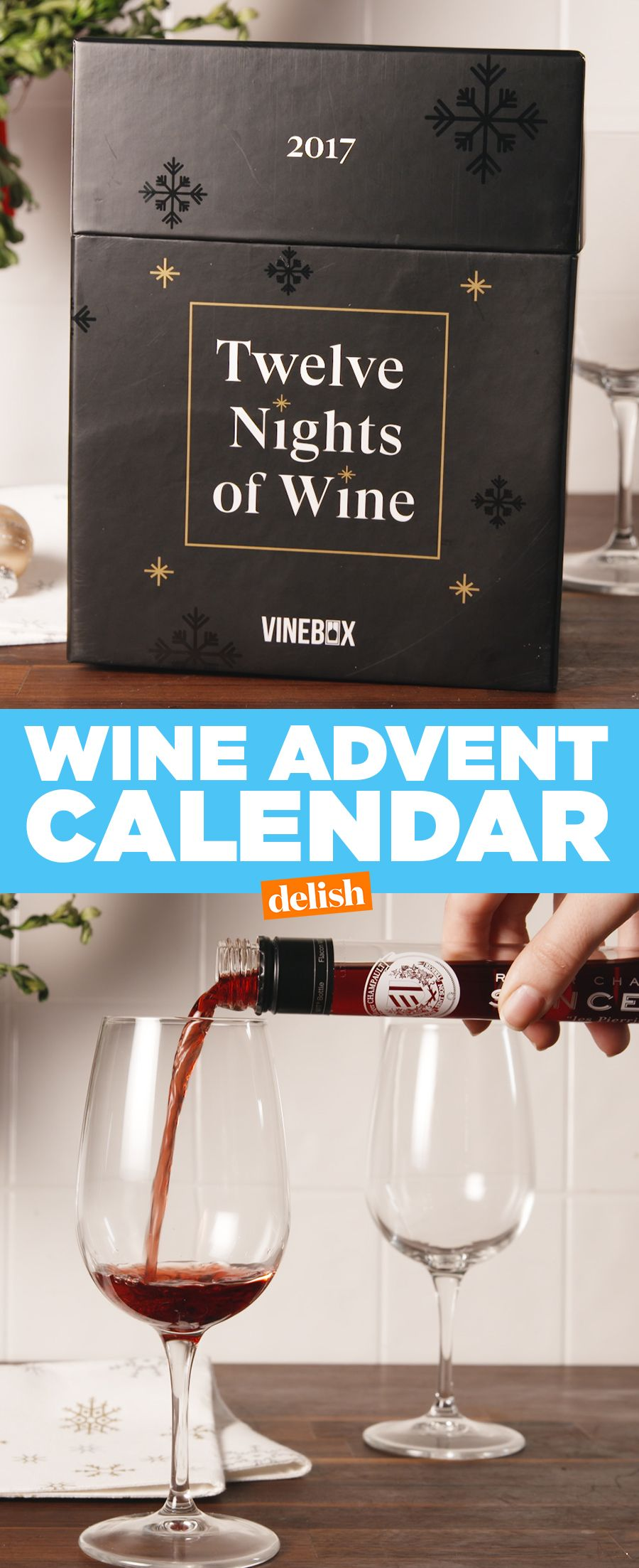 A Wine Advent Calendar Exists And Were Officially Ready For Christmas