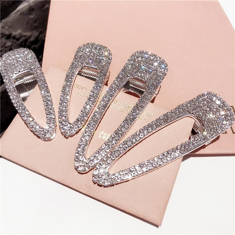 Metal Crocodile Hair Clip sparkle crystal bling