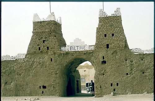 https://flic.kr/p/67JeYj | Tchad Biltine Le Fort | Image scannée de 1982