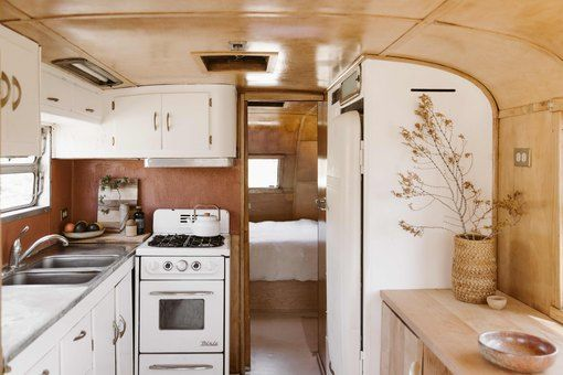 You Really Need to See This Airstream and House —Two Spaces That Are Simply a Desert Dream #desertlife