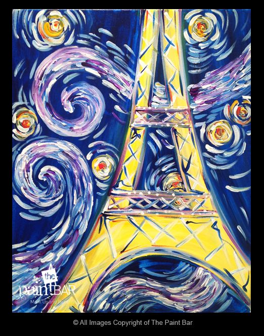 Best 25 eiffel tower painting ideas on pinterest paris for Wine and paint boston