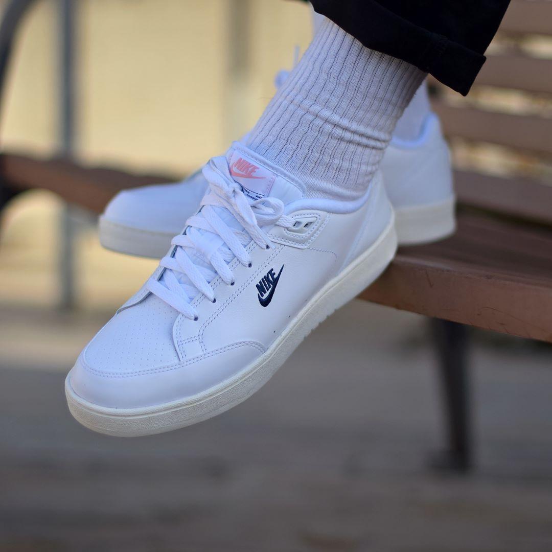 Nike Grandstand 2 White Navy
