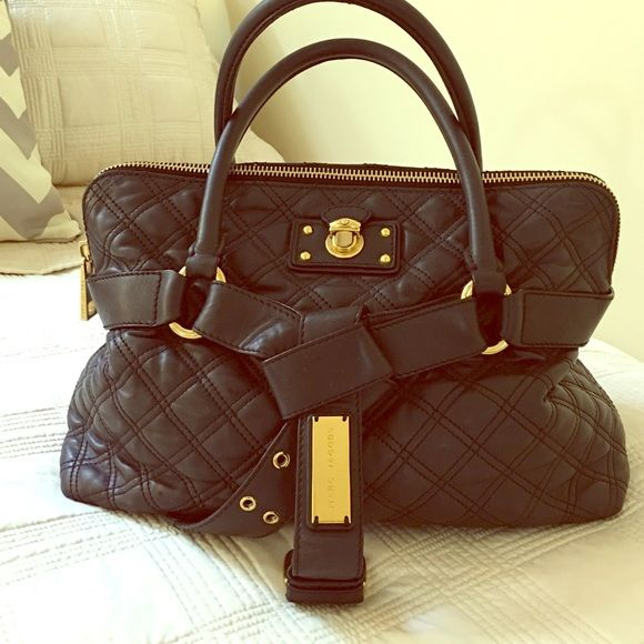 SOLD: Marc Jacobs Bruna Quilted Satchel | Marc jacobs bag ... : marc jacobs quilted satchel - Adamdwight.com