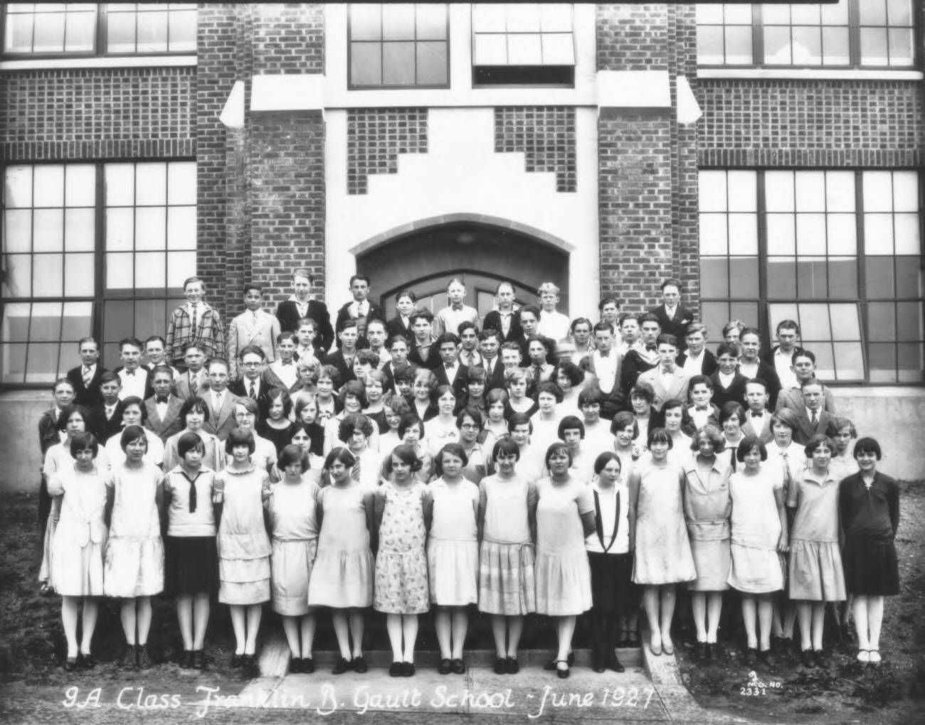 Do you know someone who was part of this 9th grade class
