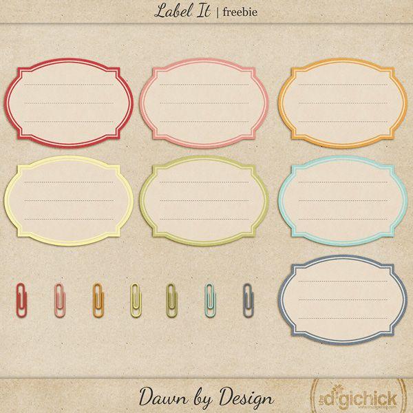 Label It journal tag freebie from Dawn by Design #digiscrap #scrapbooking #digifree #scrap #freebie #scrapbook