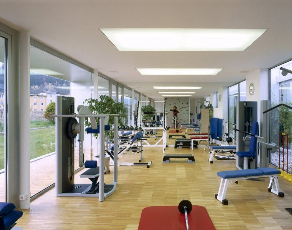 Physiotherapy And Rehabilitation Centre Wood Flooring Natural Light